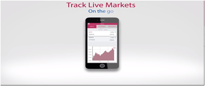 AxisDirect Mobile Track Live Market