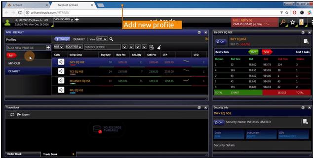 Ari-Invest Ease trading platform